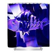 Purple Blue Fish...   # Shower Curtain