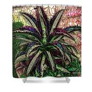 Purple Cactus II Shower Curtain