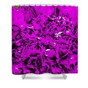 Purple Carnation Shower Curtain
