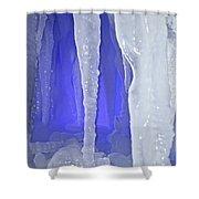 Purple Cave Shower Curtain