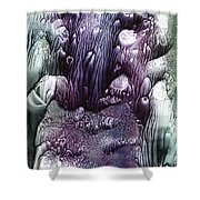 Purple Coral2 Shower Curtain