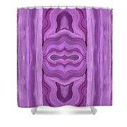 Purple Dreams Pattern Shower Curtain