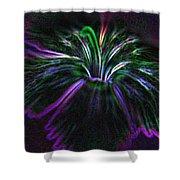 Purple Edges Shower Curtain