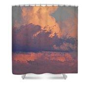Purple Heavens Shower Curtain