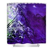 Purple Mood Shower Curtain
