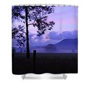 Purple Mountain Majesty Shower Curtain