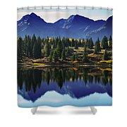 Purple Mountains Majesty Shower Curtain