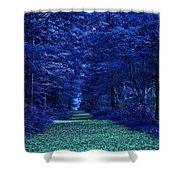 Purple Nature Shower Curtain
