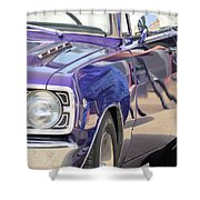 Purple Passion Classic Shower Curtain