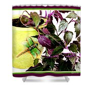 Purple Passion In The Sunshine Shower Curtain