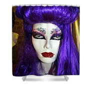 Purple Princess Shower Curtain