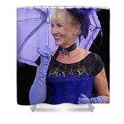 Purple Re-enactor Rendezvous Of The Gunfighters Tombstone Arizona 2004 Shower Curtain