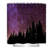 ...purple Sky Shower Curtain