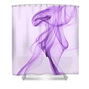 Purple Smoke Shower Curtain