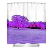 Purple World Shower Curtain