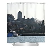 Pursuing The History Shower Curtain
