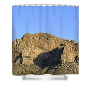 Pusch Ridge With Saguaro Shower Curtain