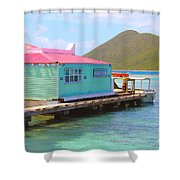 Pussers Bvi Shower Curtain