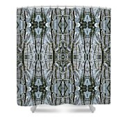 Pussy Willow Design Shower Curtain