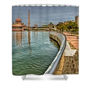 Putra Mosque Shower Curtain