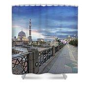 Putra Mosque At Sunset Shower Curtain