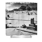 Puupiha Cemetery Lahaina Maui Shower Curtain