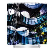 Pwc Building London Shower Curtain
