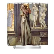 Pygmalion And The Image - The Heart Desires Shower Curtain