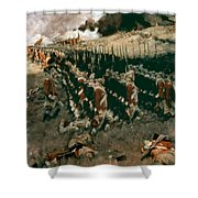 Pyle: Battle Of Bunker Hill Shower Curtain