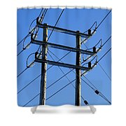 Pylon 21 Shower Curtain