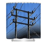 Pylon 21a Shower Curtain