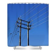 Pylon 23 Shower Curtain