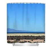 Pyramid Lake Shower Curtain