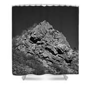 Pyramid Of Rock Shower Curtain