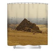 Pyramids Of Giza 12 Shower Curtain