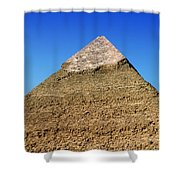 Pyramids Of Giza 15 Shower Curtain by Antony McAulay