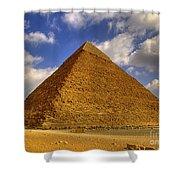 Pyramids Of Giza 28 Shower Curtain