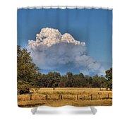 Pyrocumulus Cloud 08 18 12 Shower Curtain