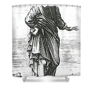 Pyrrho, Ancient Greek Philosopher Shower Curtain