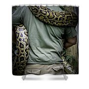 Python Boa Shower Curtain