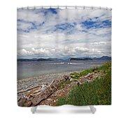 Quadra Island 2 Shower Curtain