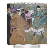 Quadrille At The Moulin Rouge, 1892 Shower Curtain