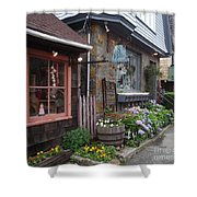 Quaint Rockport Shower Curtain