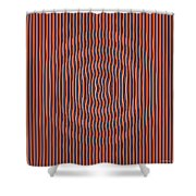 Quakedance Shower Curtain