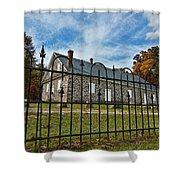 Quaker Meeting House - Warrington Shower Curtain