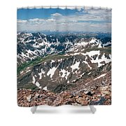 Quandry Peak 14264 Shower Curtain