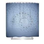 Quantum Nautilus Spotlight Shower Curtain by Jason Padgett