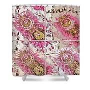 Quatro Floral - 22a Shower Curtain
