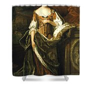 Queen Anne Of England (1665-1714) Shower Curtain