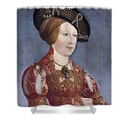 Queen Anne Of Hungary And Bohemia Shower Curtain